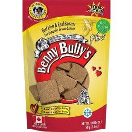 BENNY BULLY'S BENNY BULLY'S DOG FREEZE-DRIED LIVER BANANA 2.1OZ