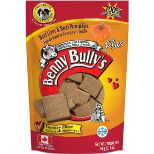 BENNY BULLY'S BENNY BULLY'S DOG FREEZE-DRIED LIVER PUMPKIN 2.1OZ