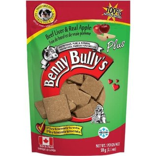 BENNY BULLY'S BENNY BULLY'S DOG FREEZE-DRIED LIVER APPLE 2.1OZ