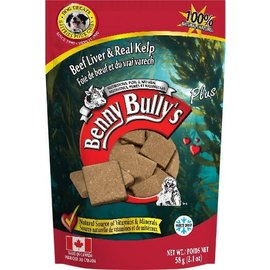 BENNY BULLY'S BENNY BULLY'S DOG FREEZE-DRIED LIVER KELP 2.1OZ