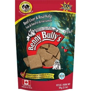 BENNY BULLY'S BENNY BULLY'S DOG FREEZE-DRIED LIVER KELP 2.1OZ