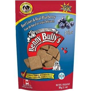 BENNY BULLY'S BENNY BULLY'S DOG FREEZE-DRIED LIVER BLUEBERRY 2.1OZ