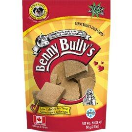 BENNY BULLY'S BENNY BULLY'S DOG FREEZE-DRIED LIVER CHOP ORIGINAL 2.8OZ