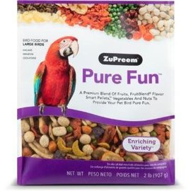 Zupreem Pure Fun Bird Food for Large Birds 2#