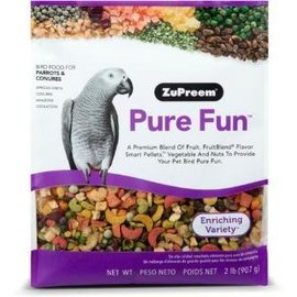 Zupreem Pure Fun Bird Food for Parrots & Conures 2#