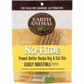 EARTH ANIMAL Earth Animal No-Hide Peanut Butter Stix, 10ct.