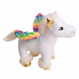 """Snugarooz Peggy the Pegasus White Dog Toy- 10"""""""