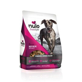 NULO Nulo Freestyle Grain-Free Beef Recipe With Apples Freeze-Dried Raw 5oz.