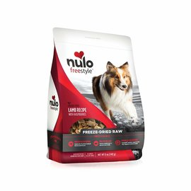 NULO Nulo Freeze-Dried Raw Lamb with Raspberries Recipe Freeze-Dried Raw 5oz.