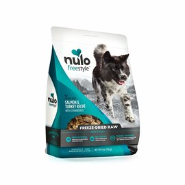 NULO Nulo Freeze-Dried Raw Salmon & Turkey with Strawberries 5oz.