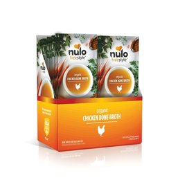 NULO Nulo FreeStyle Organic Chicken Bone Broth For Dogs & Cats 2oz