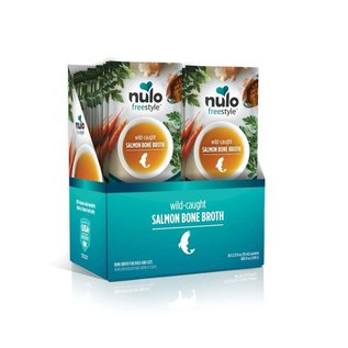 NULO Nulo FreeStyle Wild-Caught Salmon Bone Broth For Dogs & Cats 2oz