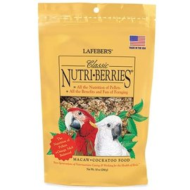 LAFEBER COMPANY LAFEBER MACAW NUTRIBERRIES 10OZ Bag