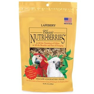 LAFEBER COMPANY LAFEBER MACAW NUTRIBERRIES 10OZ Bag