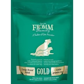 FROMM FROMM DOG GOLD LARGE BREED ADULT 5LB