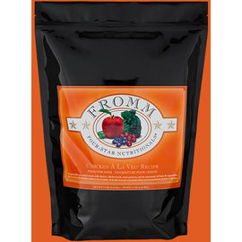 FROMM FROMM DOG 4STAR CHICKEN VEGETABLE 5LB