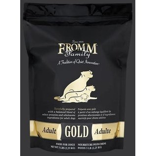 FROMM FROMM DOG GOLD ADULT 5LB