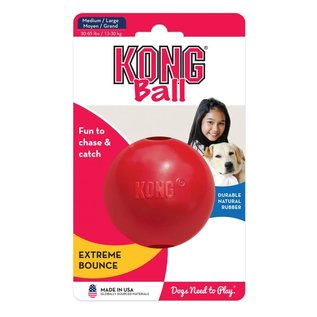 KONG Ball Dog Toy MD/LG 3.2IN