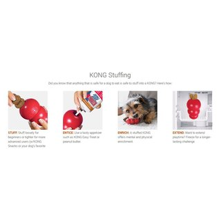 KONG Classic Dog Toy Red Small