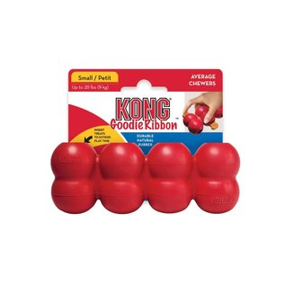 Kong Goodie Ribbon Dog Toy Small
