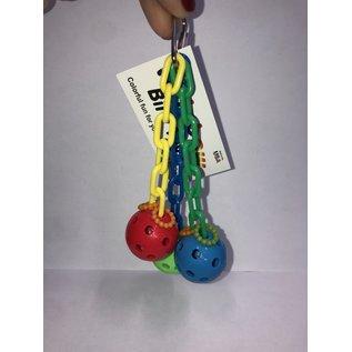 Mini Triple Wiffle - Rainbow Bird Toys