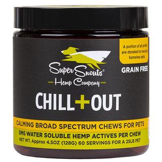 SUPER SNOUT HEMP SUPER SNOUTS HEMP DOG GRAIN FREE FULL SPECTRUM PCR CHEW CHILL OUT 30 COUNT
