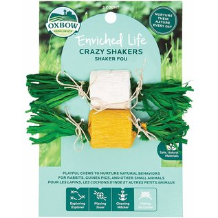 OXBOW OXBOW SMALL ANIMAL ENRICHED LIFE CRAZY SHAKERS