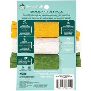 OXBOW OXBOW SMALL ANIMAL ENRICHED LIFE SHAKE, RATTLE & ROLL