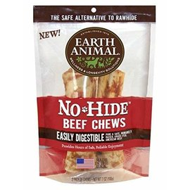 EARTH ANIMAL EARTH ANIMAL DOG NO-HIDE BEEF 7 INCHES 2 PACK