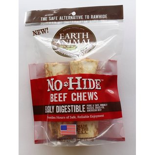EARTH ANIMAL EARTH ANIMAL DOG NO-HIDE BEEF 4 INCHES 2 PACK