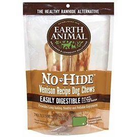 EARTH ANIMAL EARTH ANIMAL DOG NO-HIDE VENISON 7 INCHES 2 PACK