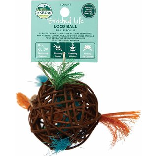 OXBOW OXBOW SMALL ANIMAL ENRICHED LIFE LOCO BALL