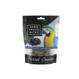 CAITEC Caitec Oven Fresh Bites Mixed Berries 4 oz Parrot Cookies