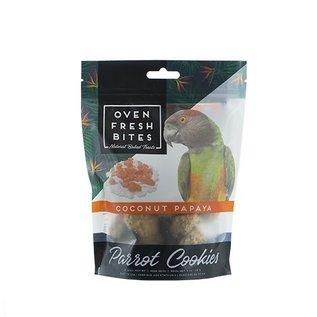 CAITEC Caitec Oven Fresh Bites Coconut Papaya 4 oz Parrot Cookies