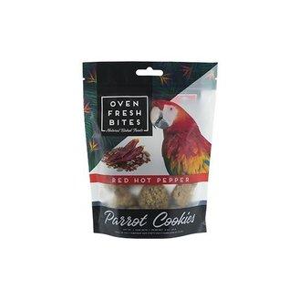 CAITEC Caitec Oven Fresh Bites Red Hot Pepper 4 oz Parrot Cookies