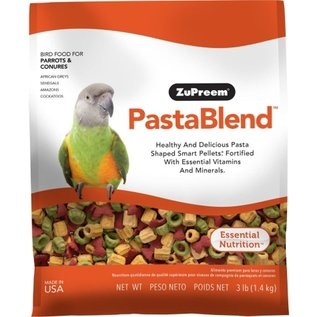 ZuPreem PastaBlend Parrots & Conures Bird Food 3lb