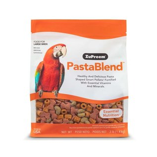 ZuPreem PastaBlend Large Birds Bird Food 3lb