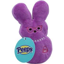 Peeps Plush Bunny Medium Dog Toy Assorted Colors