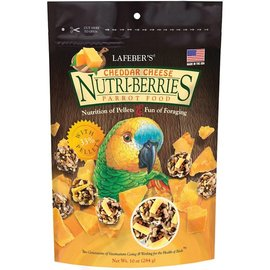 LAFEBER COMPANY LAFEBER PARROT NUTRI-BERRIES CHEDDAR CHEESE 10OZ BAG