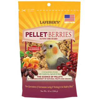 LAFEBER COMPANY Lafeber Pellet-Berries for Cockatiels 10 oz