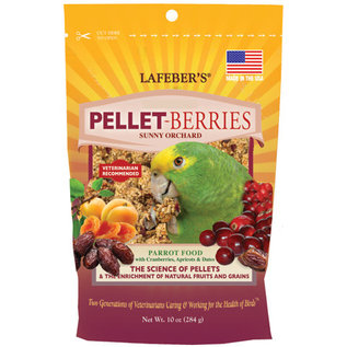 LAFEBER COMPANY Lafeber Pellet-Berries for Parrots 10 oz