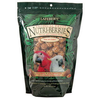 LAFEBER COMPANY LAFEBER MACAW NUTRI-BERRIES TROPICAL FRUIT 3# BAG