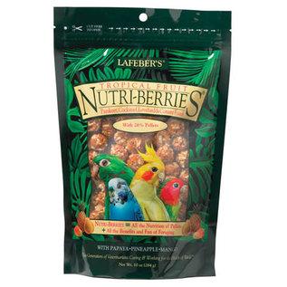 LAFEBER COMPANY LAFEBER  COCKATIEL NUTRI-BERRIES TROPICAL FRUIT 10OZ BAG