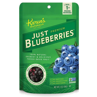 KAREN'S NATURALS / JUST TOMATOES JUST BLUEBERRIES 2OZ BY KAREN'S NATURALS