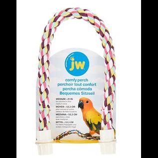 JW Comfy Perch Multicolor Medium 21in