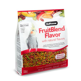 ZuPreem Fruitblend Flavor Cockatiel Medium 2lb