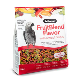 ZuPreem Fruitblend Flavor Medium-Large 3.5 #