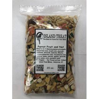 Island Treat Parrot Fruit & Nut 20 oz.