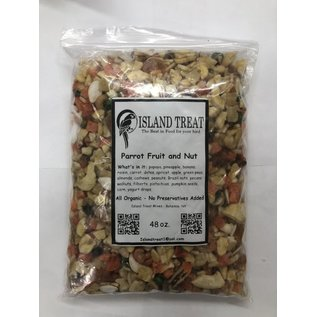 Island Treat Parrot Fruit & Nut 48 oz.
