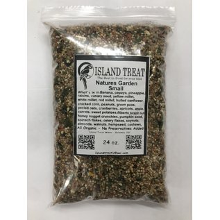 Island Treat Natures Garden Small 24 oz.
